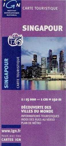 MAPA SINGAPOUR 1:15.000 -IGN (2008)