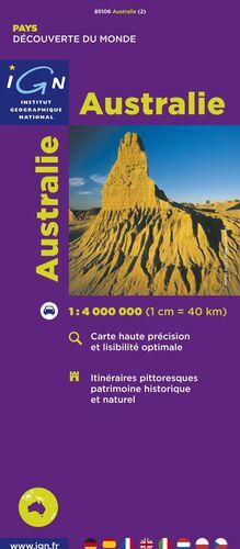 AUSTRALIE 1:4.000.000 -IGN