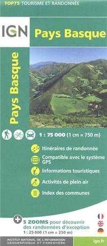 PAYS BASQUE 1:75.000 -TOP 75 IGN