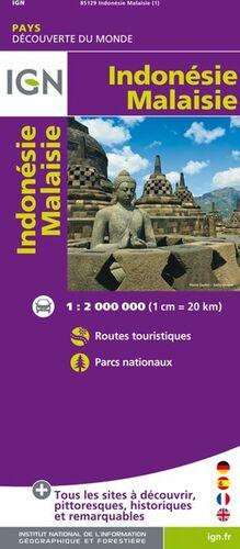 INDONESIE MALAISIE 1:2.000.000 -IGN