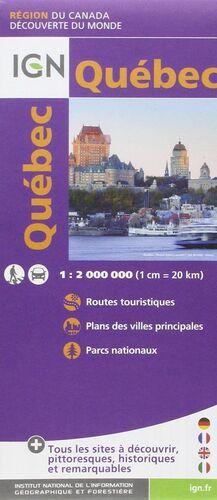 QUEBEC 1:2.000.000 -IGN