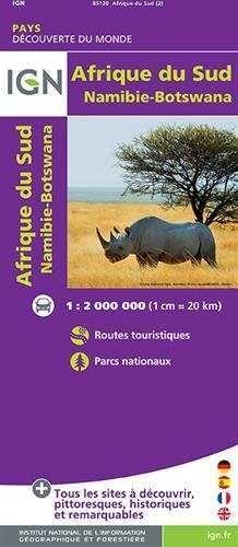 AFRIQUE DU SUD (MAPA IGN)