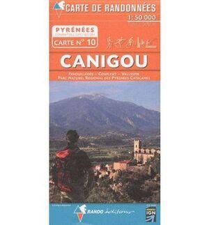 CANIGOU 1:50.000 **CARTE RANDONEES**