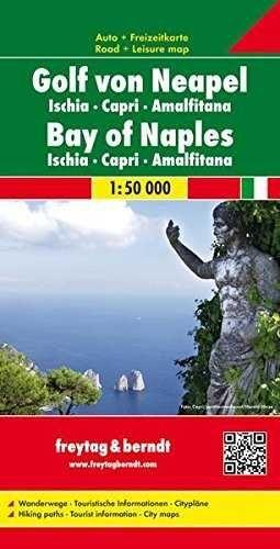GOLFO DE NAPOLES - ISCHIA - CAPRI - AMALFITANA 1:50 000