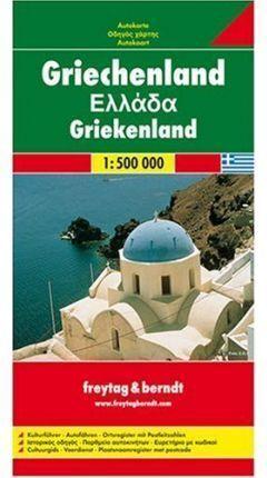 GRECIA MAPA F&B 1:500000