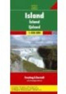 ISLANDIA 1:400.000 MAPA