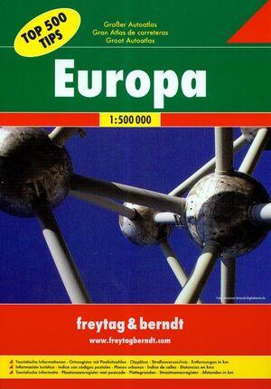 GRAN ATLAS DE CARRETERAS EUROPA 1: 500 000