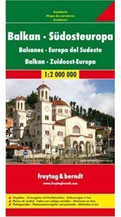 MAPA BALCANES - SUDESTE EUROPA 1:200000 (2009)