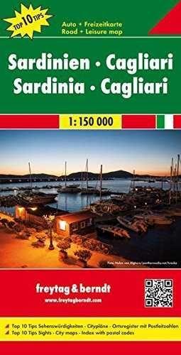 SARDINIA-CAGLIARI. TOP10. 1:1,150,000