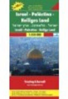ISRAEL-PALESTINA-TIERRA SANTA TOP10 1:150.000