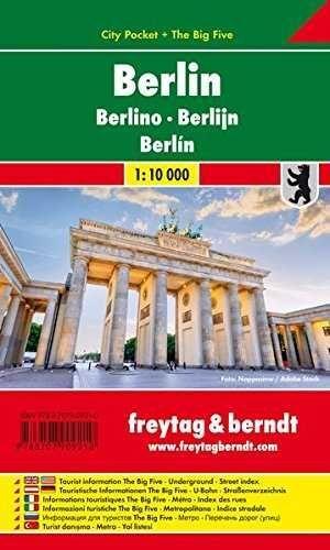 BERLIN CITY POCKET 1:10.000