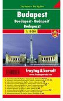 BUDAPEST CITY POCKET 1:10.000