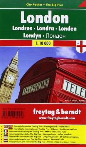 LONDRES CITY POCKET 1:10.000