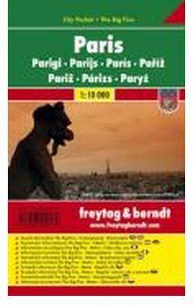 PARIS CITY POCKET 1:10.000