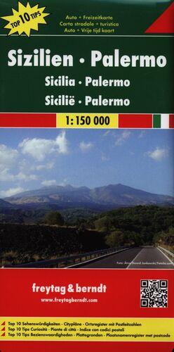 MAPA SICILIA - PALERMO 1:15000