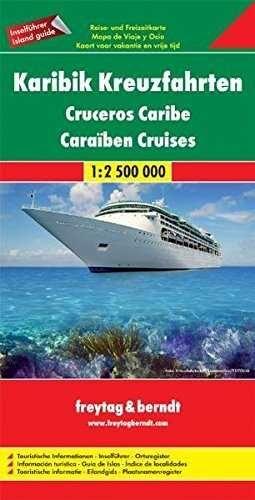 CRUCEROS EN EL CARIBE 1:2.500.000