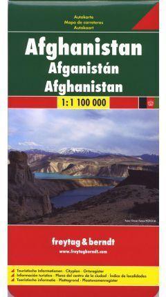 MAPA AFGHANISTAN  1:1.000.000
