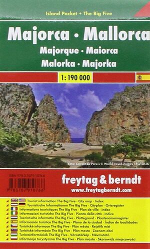 MALLORCA ISLAND POCKET 1:150.000