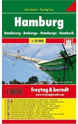 HAMBURGO CITY POCKET 1:10.000