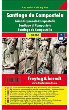 SANTIAGO DE COMPOSTELA CITY POCKET 1:10.000