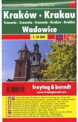 CRACOVIA **CITY POCKET FREYTAG 1:10,000**