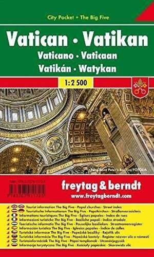 VATICANO  E IGLESIAS VATICANAS ESCALA 1:2.500