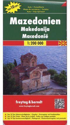 MACEDONIA *MAPA FREYTAG*