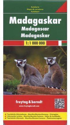 MADAGASCAR *MAPA FREYTAG 2013*