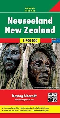 NEUSEELAND - NEW ZEALAND 1:700. 000