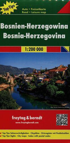 BOSNIA Y HERZEGOVINA 1:200.000