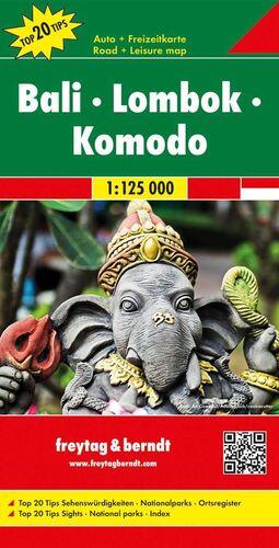 BALI-LOMBOK-KOMODO 1:125.000