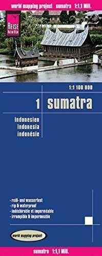 INDONESIA 1 SUMATRA  * MAPA REISE 2010*   1 : 1 100 000