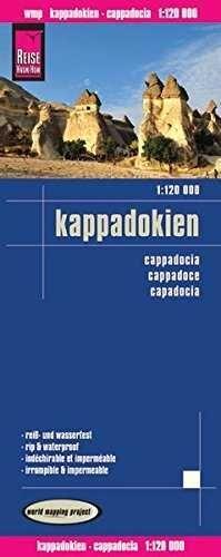 KAPPADOKIEN / CAPADOCIA **REISE MAP**