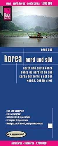 KOREA NORD SUD  *MAPA REISE 2013*   1 : 700 000
