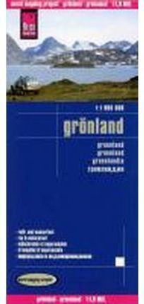 GRONLAND **REISE MAP**