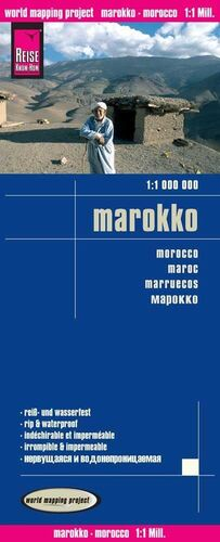 MARRUECOS 1:1.000.000 IMPERMEABLE