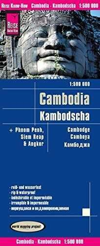 CAMBOYA *REISE MAP*