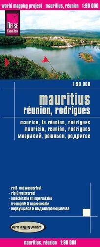MAURICIO - REUNIÓN - RODRÍGUEZ 1:90.000 IMPERMEABLE
