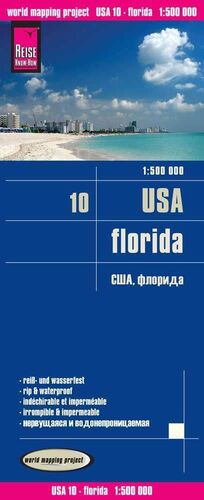 USA 10: FLORIDA 1:500.000 IMPERMEABLE