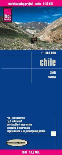 CHILE *MAPA REISE 2016* 1:1 600 000
