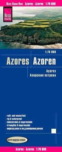 AZORES 1:70.000 IMPERMEABLE