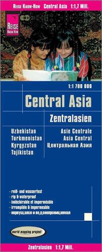 ASIA CENTRAL 1:1.700.000 IMPERMEABLE