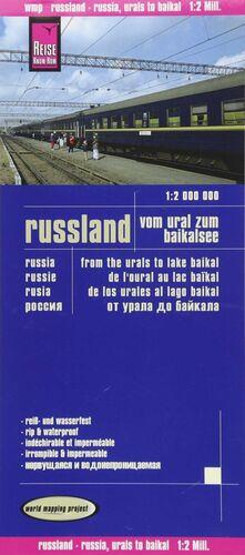 RUSIA: DE LOS URALES AL LAGO BAIKAL 1:2.000.000 IMPERMEABLE