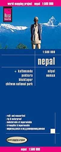 NEPAL 1:50.000 IMPERMEABLE