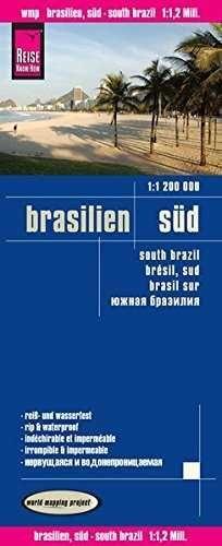 BRASIL SUR 1:1.200.000 IMPERMEABLE