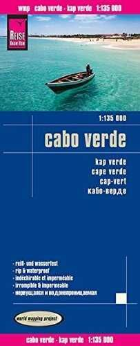 CABO VERDE 1:135.000 IMPERMEABLE