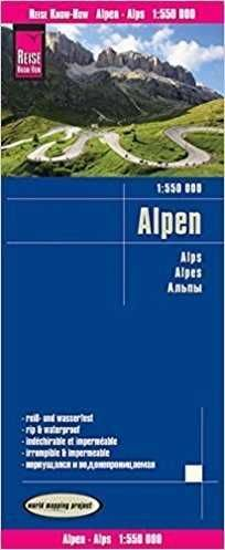 ALPES 1:550.000 IMPERMEABLE