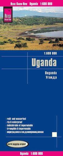UGANDA 1:600.000 IMPERMEABLE