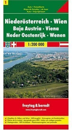 MAPA AUSTRIA 1:200000