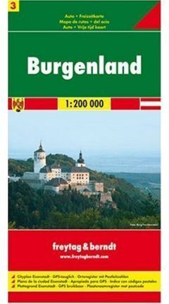 MAPA BURGELAND (AUSTRIA) 1:200000